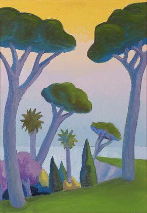 Salvo, Paesaggio con pini, 1986