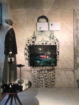 Sanna Kannisto. White Space. Exhibition view at Nonostantemarras, Milano 2017
