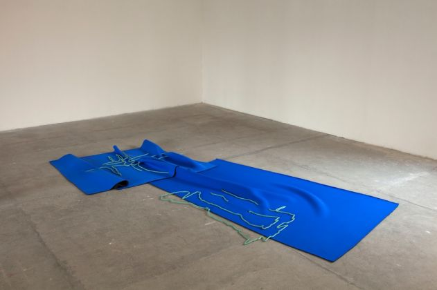 Sara Enrico, Mirroring, 2016. Installation view at Fonderia Artistica Battaglia, Milano. Photo Virginia Taroni