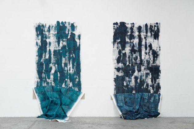 Sara Enrico, Twins, 2014. Installation view at Les Instant Chavirés, Montreuil. Photo Aurelién Mule