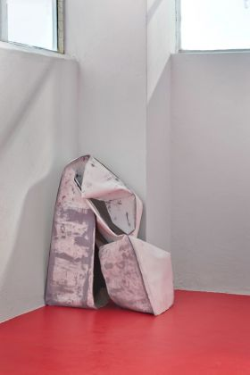 Sara Enrico, Untitled, 2015. Installation view at Fondazione 107, Torino. Photo Cristina Leoncini