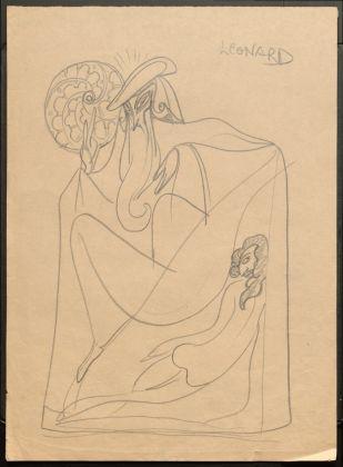 Sergej M. Ejzenštejn, Leonardo, 1931, Archivio Statale di Letteratura e Arte di Mosca
