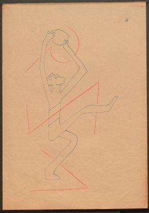 Sergej M. Ejzenštejn, dal ciclo Gedanken zur Musik, 1938, Archivio Statale di Letteratura e Arte di Mosca