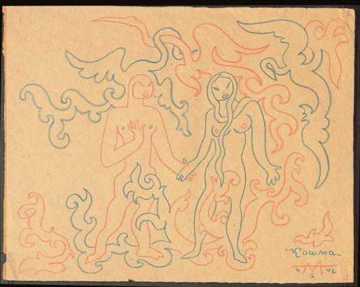 Sergej M. Ejzenštejn, dal ciclo Koshma, 1941, Archivio Statale di Letteratura e Arte di Mosca