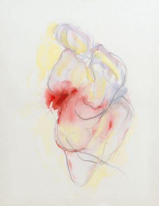 Silvia Recchia, Venus, tecnica mista su tela, cm 90x70