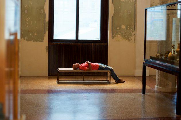 Stefan Draschan, Peoples sleeping in Museums