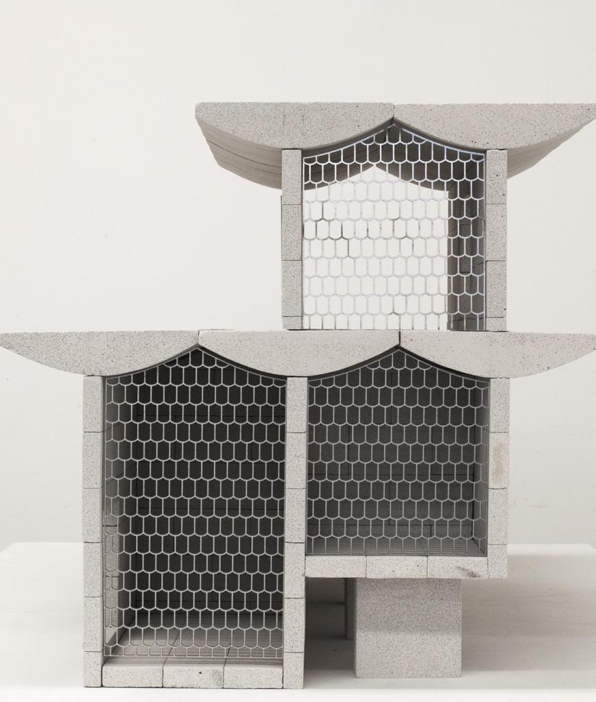 Studio Anne Holtrop, Qaysariya Souk model, Al Muharraq. Photo © Studio Anne Holtrop