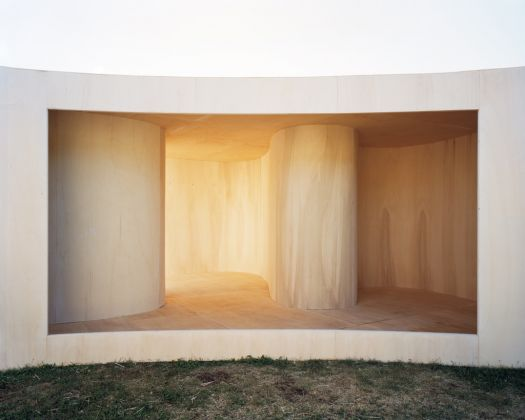 Studio Anne Holtrop, Temporary Museum (Lake), Heemskerk. Photo © Bas Princen