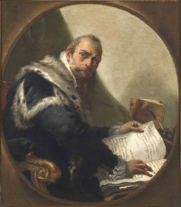 Tiepolo, Ritratto di Antonio Riccobono, Accademia dei Concordi, Rovigo
