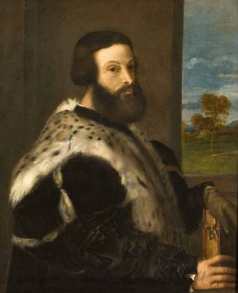 Tiziano, Ritratto di Zuan Paolo Da Ponte, Venezia, collezione privata Scarpa