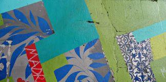 Un wall painting di Nuria, dettaglio