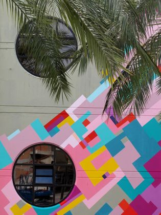 Un wall painting di Nuria