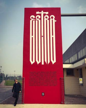 Un'opera di Luca Barcellona