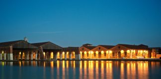 Arsenale esterno location mostra