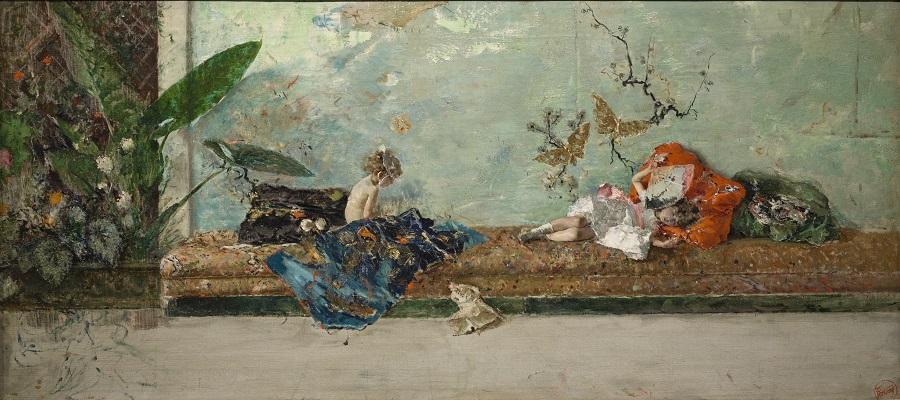 Mariano Fortuny, I figli del pittore