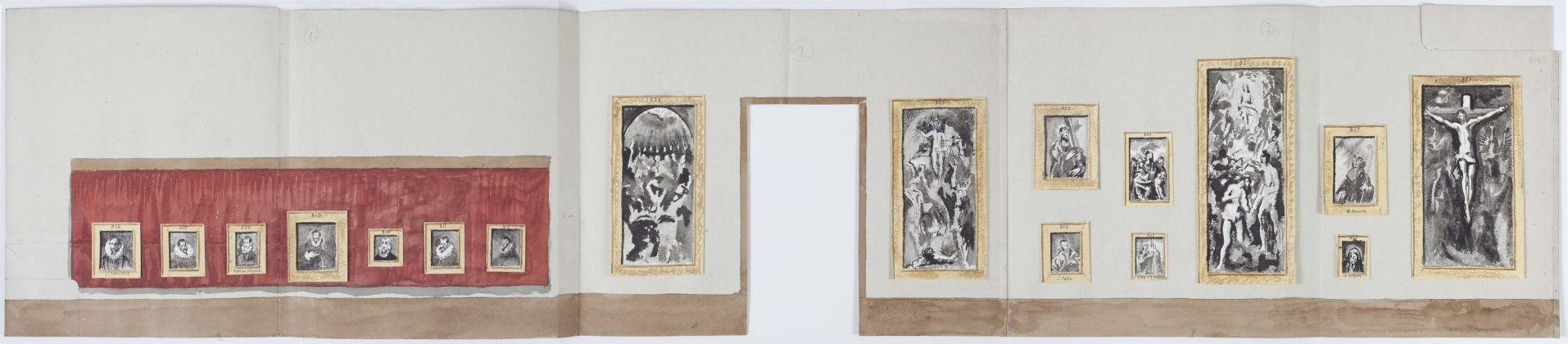 progetto sala El Greco