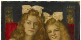 The portrait of two young - Franz von Stuck