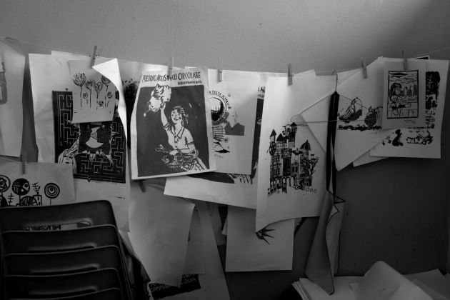 Studio Nella Caffaratti, presso Casa del Quartiere, ph. Nicolò Taglia