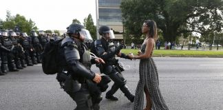 Jonathan Bachman, Reuters, Taking a Stand in Baton Rouge