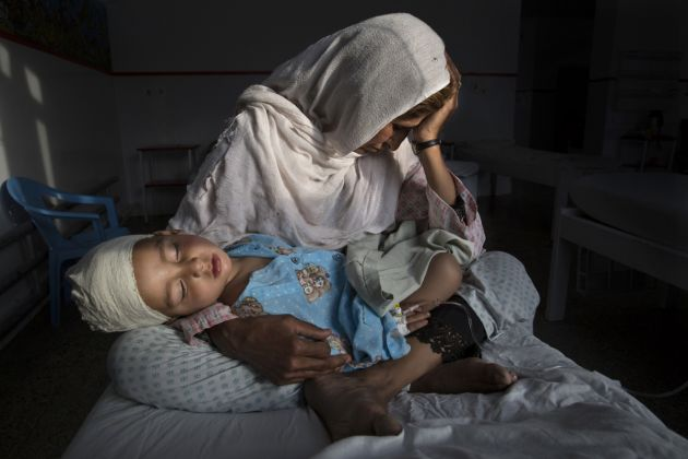 © Paula Bronstein, Pulitzer Center on Crisis Reporting Getty Images Reportage Title The Silent Victims Of A Forgotten War