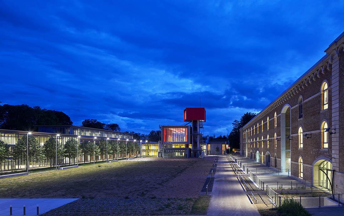 Renzo Piano Workshop Building, Citadel University Campus, Amiens, France (Construction site 30/06/2017) ©Michel Denancé