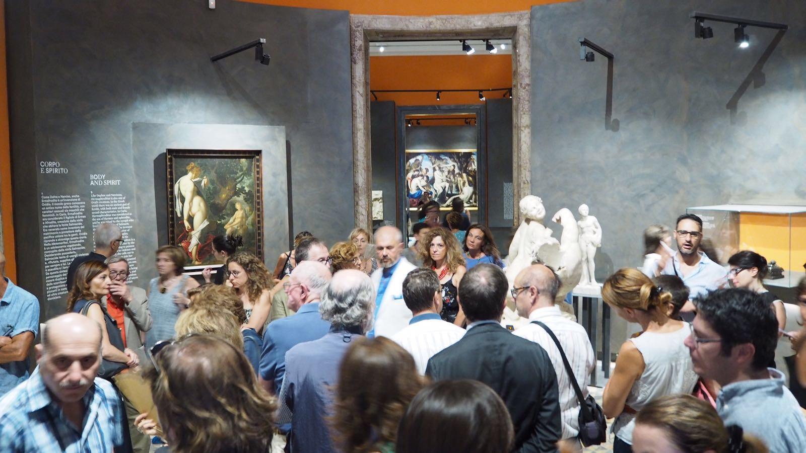 mostra Amori Divini (Napoli, Museo Archeologico Nazionale , giugno 2017 – ottobre 2017). © Stefano Bonomelli