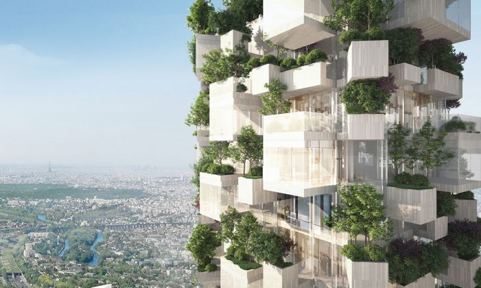 Stefano Boeri Architetti, Balcon sur Paris, La Forêt Blanche – Courtesy Stefano Boeri Architetti