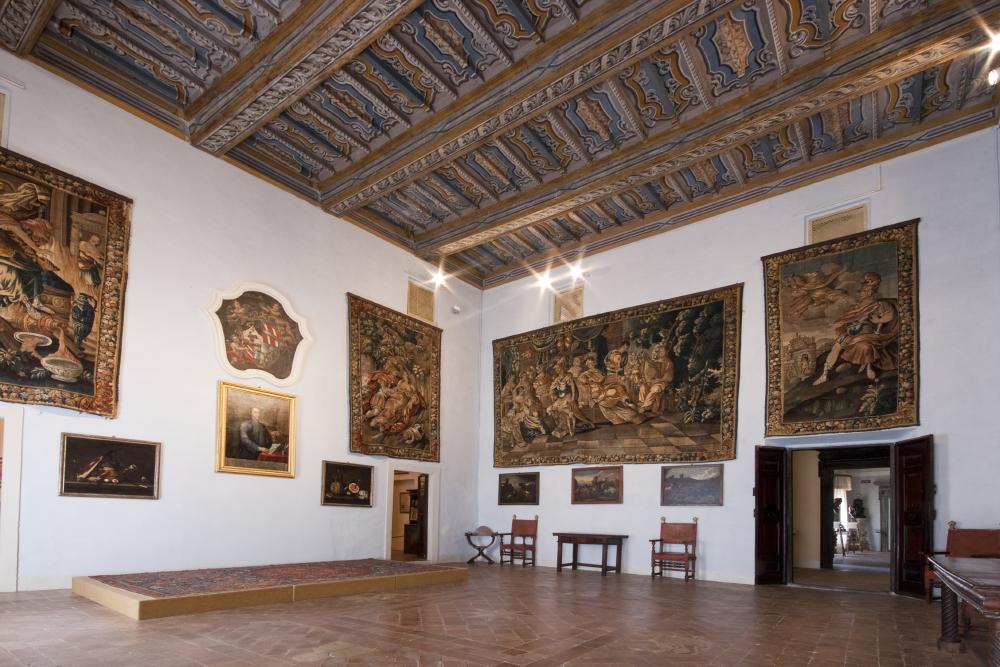 Sassoferrato, Madonna col Bambino e San Giovannino, Brescia