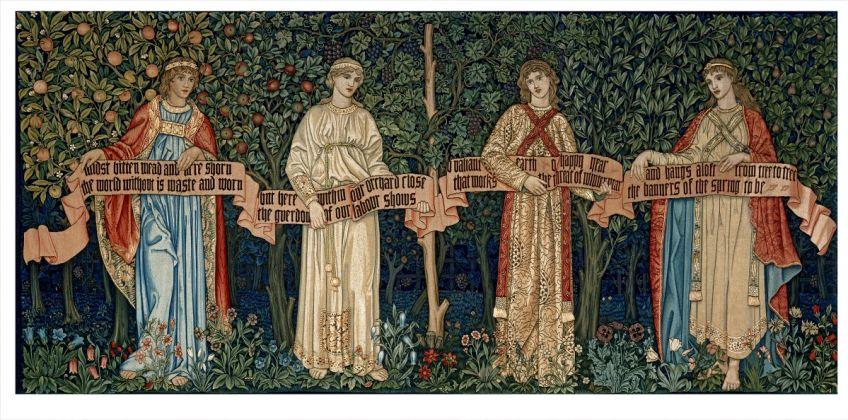 William Morris, Tapiz The Orchard