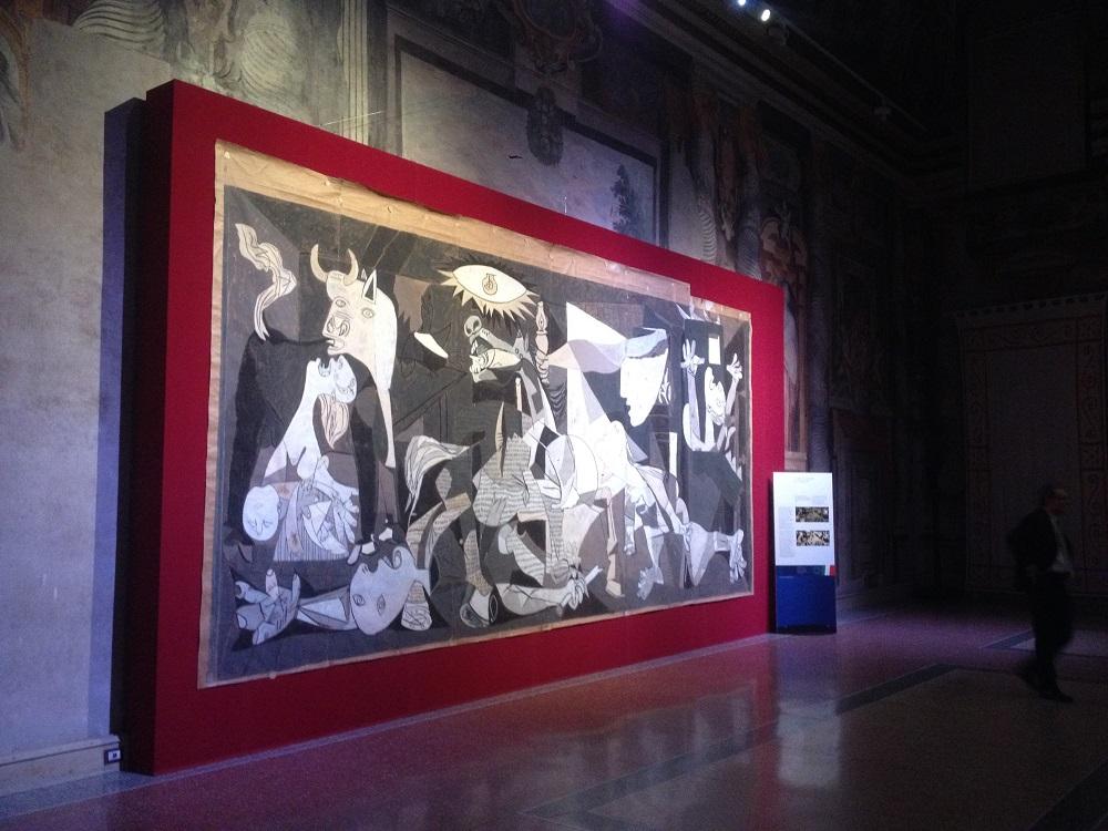 Il Cartone di Guernica a Palazzo Giustiniani a Roma