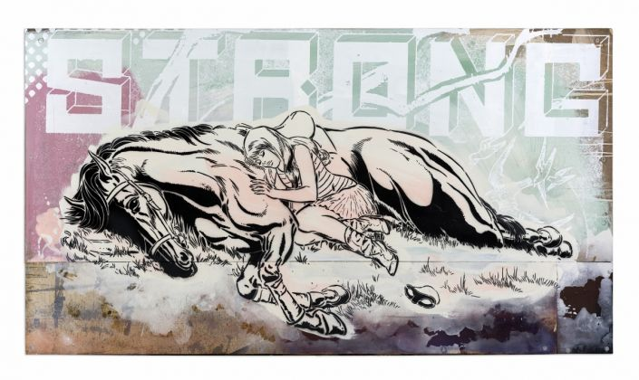 FAILE STRONG Legends courtesy Galerie Magda Danysz