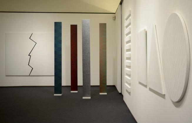 Fondazione Ragghianti, Mario Nigro, Gli spazi del colore. Foto ®Beatrice Speranza