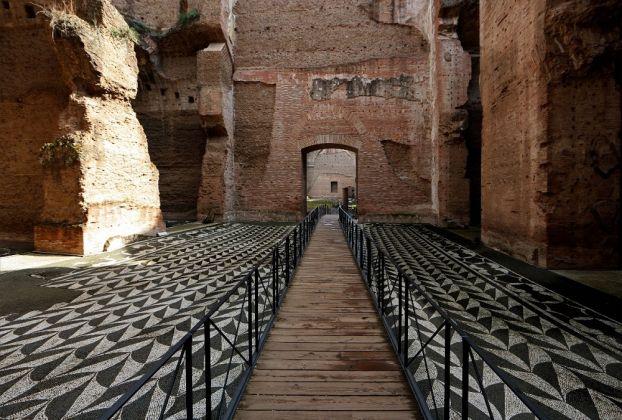 Terme di Caracalla - Spogliatoio