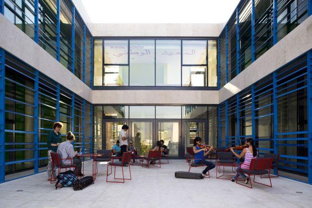 AAU Anastas, The Edward Said National Conservatory of Music, Betlemme © Mikaela Burstow