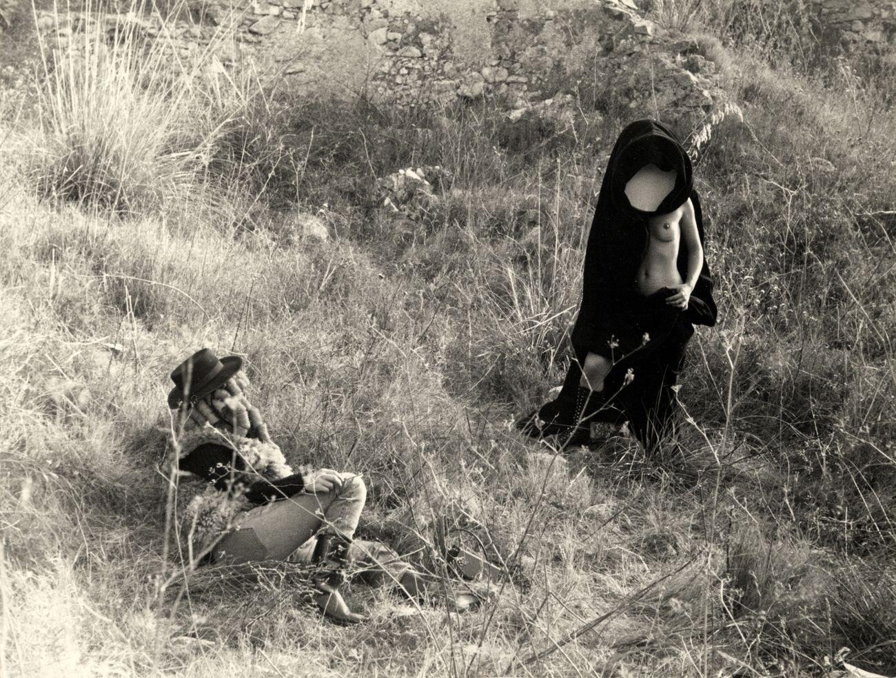 Alberto Grifi, Vigilando reprimere (1972). Still da film