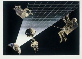 Alessandro Poli (Superstudio), Architettura Interplanetaria. Autostrada terra luna, 1970-1971. Montréal, CCA, Alessandro Poli fonds