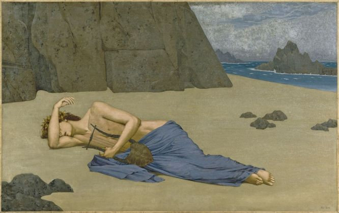 Alexandre Séon, Il lamento di Orfeo, ca. 1896, Musée d'Orsay, Paris