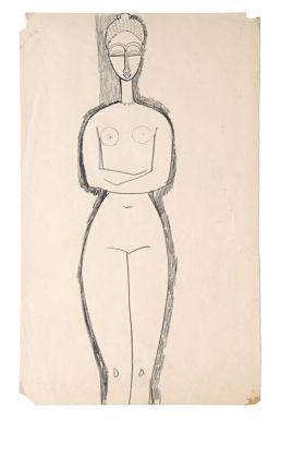 Amedeo Modigliani, Nu de femme debout. Villa Necchi Campiglio, Milano 2017 (c) FAI - Fondo Ambiente Italiano