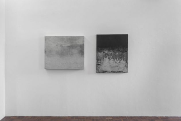 Anita Leisz. Exhibition view at Norma Mangione Gallery, Torino 2017