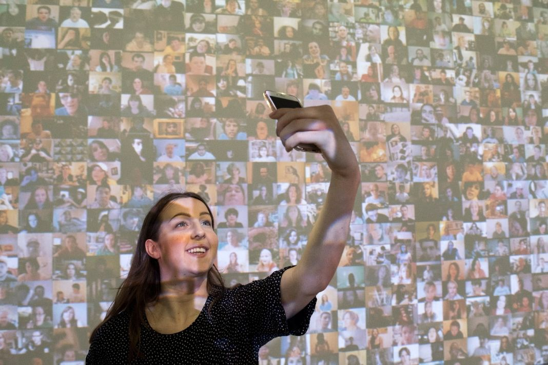 Arte e selfie