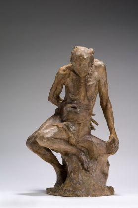Auguste Rodin, Colei che fu la Belle Heaulmière, 1880 1883, gesso patinato, ocra, Parigi, musée Rodin © musee Rodin, foto Christian Baraja