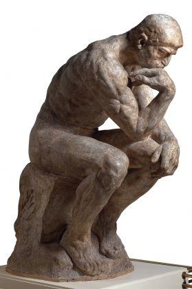 Auguste Rodin, Il pensatore, statua monumentale, 1880 circa, gesso patinato. Parigi, musée Rodin. © musée Rodin, foto Jean de Calan