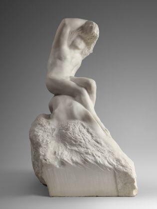 Auguste Rodin, Il poeta e la sirena, 1909 marmo, Parigi, musée Rodin © musee Rodin, foto Herve Lewandowski