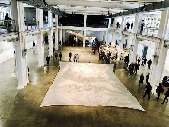 Biennale di Lione 2017. Exhibition view at La Sucrière