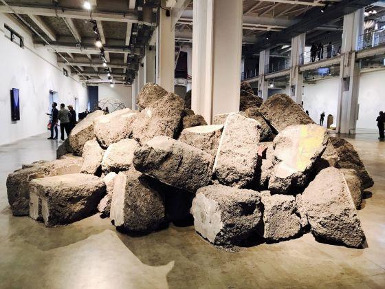 Biennale di Lione 2017. Lara Almarcegui, Mâchefer, 2017