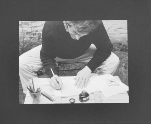 Biennale di Lione 2017. Marcel Broodthaers, La Pluie, 1969