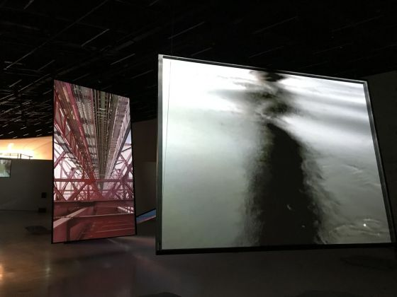 Bill Fontana, Shadow Soundings. Exhibition view at MAAT, Lisbona 2017