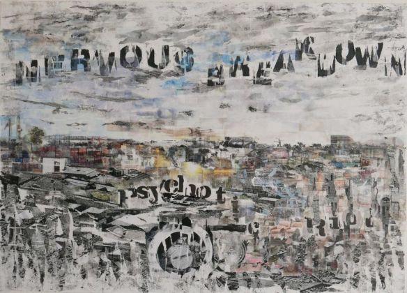 Botto&Bruno. White noise. Installation view at Alberto Peola Arte Contemporanea, Torino 2017