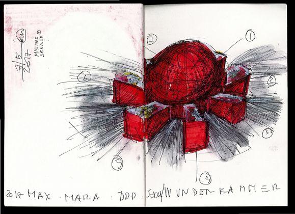 COATS! Max Mara, Seoul 2017_Sketch by Ico Migliore