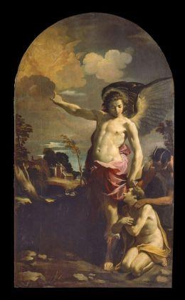 Carlo Bononi, Angelo custode, 1625 30. Ferrara, Pinacoteca Nazionale su concessione del MiBACT